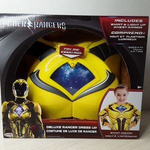 Power Rangers Deluxe Dress Up Set - size 4-7x